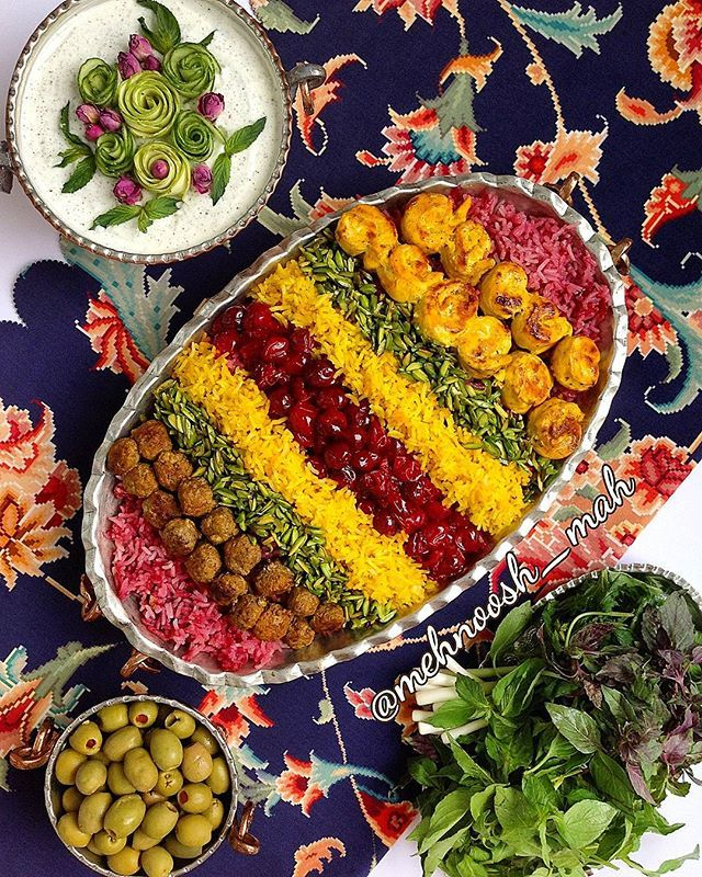 #albaloopolo ; persian rice with sour cherry