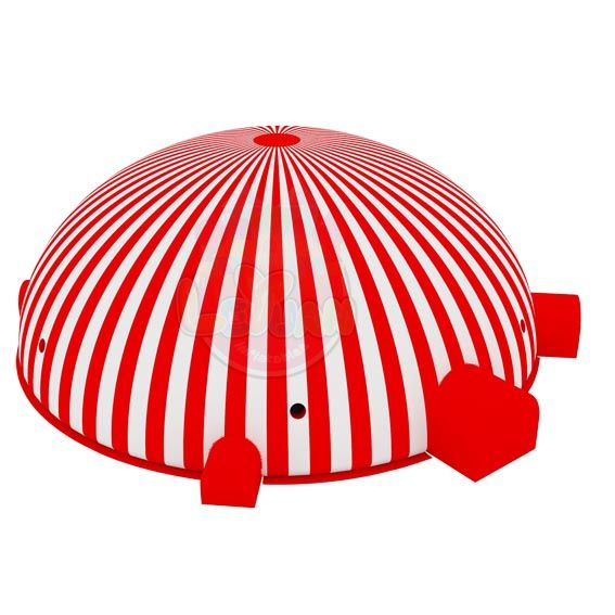 newest striped Inflatable Tent-3D. Inflatable tent  makes a colorful impression  to people.