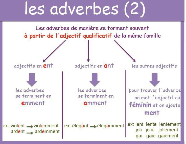 les adverbes 2
