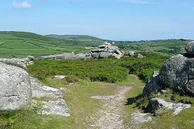 trencrom hill near st ives cornwall