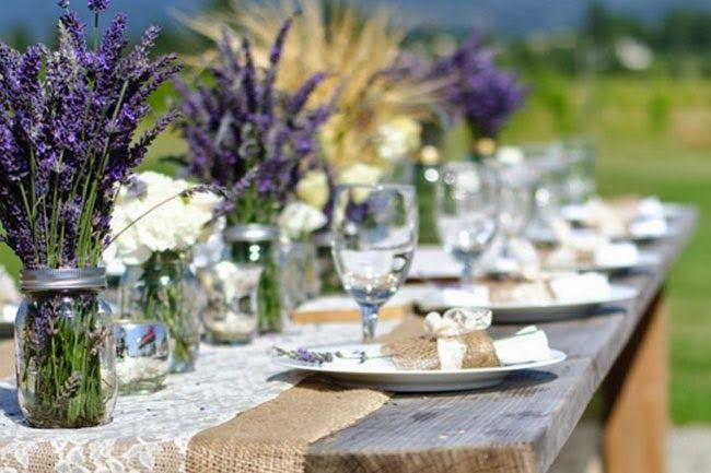 Glass jars wedding ideas