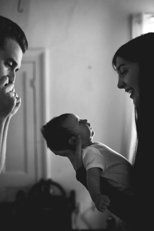 Family. Love imposición en blanco y negro. Contrasté luces y sombras. Me encanta