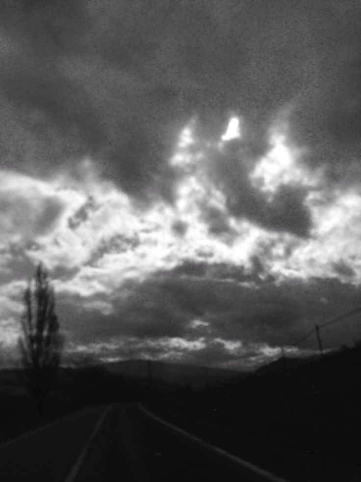 Nuvole in bianco e nero