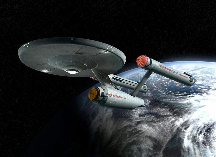 The U.S.S Enterprise NCC 1701.