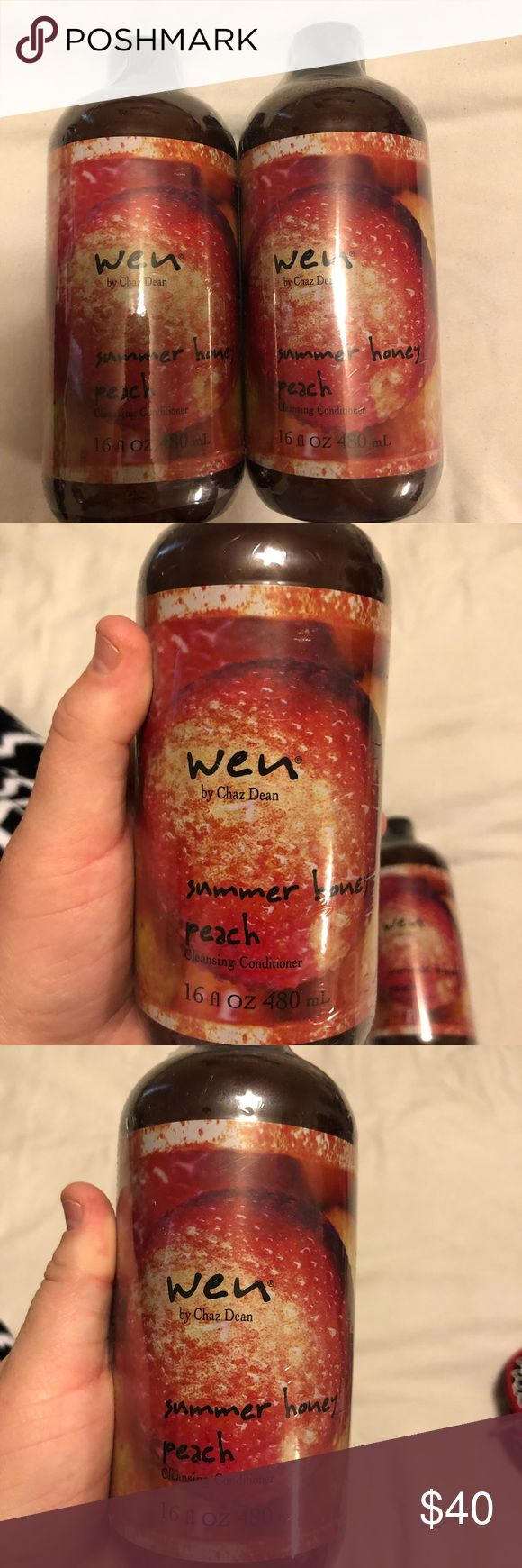 WEN Shampoo and Conditioner- Peach WEN Shampoo and Conditioner. Peach Scent WEN Other