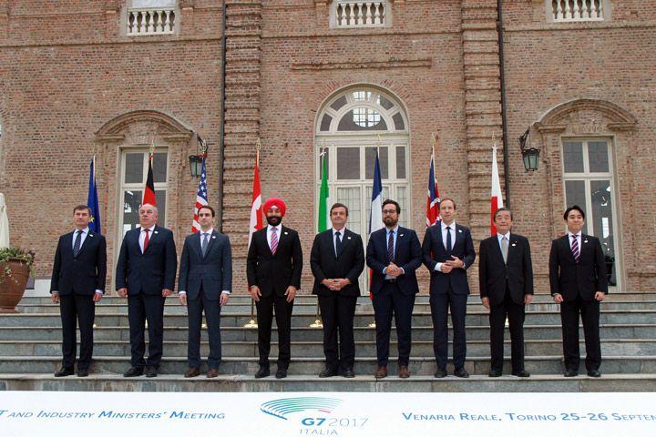 Alla Venaria Reale il G7 su Industria e ICT