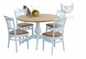 Zestaw Stół Bolero oraz 4 krzesła Alexander