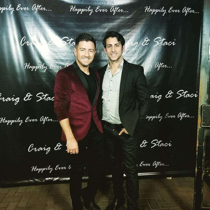 "1,303 Likes, 16 Comments - Billy Gilman (@billygilmanofficial) on Instagram: ""Celebrating Craig and Staci. Craig is my right arm in my touring world and musical world. Happy to…"""