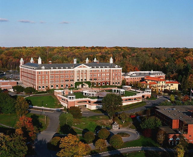 The Culinary Institute of America Campus Aerial (CIA) Hyde Park, NY