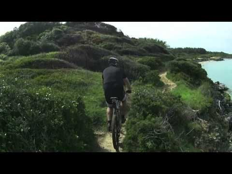Otranto 14) BAIA DEI TURCHI IN MTB-OTRANTO - YouTube