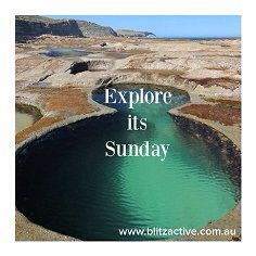 SUNDAY great day to explore! A Blitz Active favourite, the Figure eight pools, NSW, Australia.  Feel good, look great - activewear sizes 16-26 Made in Australia www.blitzactive.com.au  #blitzactive #blitzactivewear #sunday #plussizeactivewear #plussizeworkout #aussiefashion #activewear