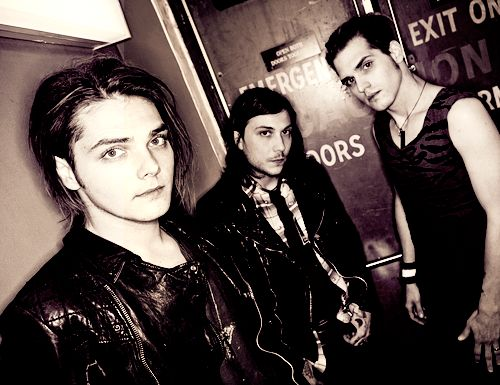 Gerard Way, Frank Iero and Mikey Way | My Chemical Romance