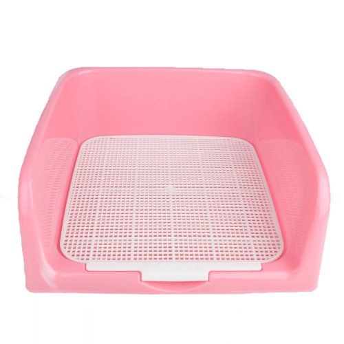 16 Quot X16 Quot Indoor Dog Puppy Plastic Potty Training Fence Tray