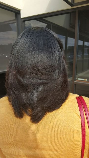 Healthy, relaxed hair (www.latoyajonesblog.com)