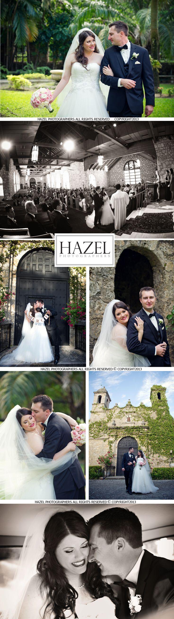 Coral Gables Plymouth Church + Sofitel Hotel Miami FL: Cristina + Pascal Wedding | Hazel Photographers Blog