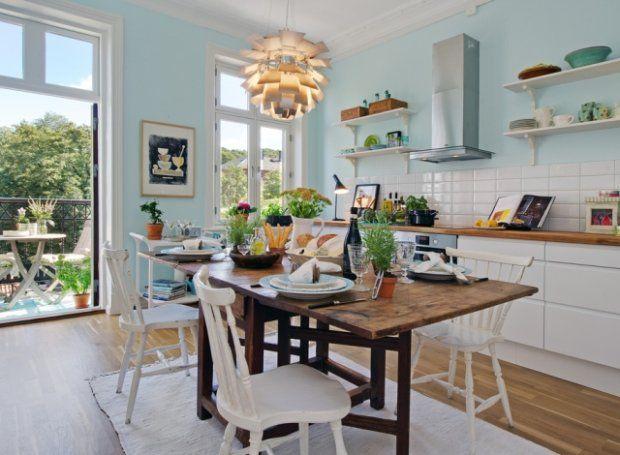 Biała kuchnia w stylu skandynawskim: Kitchens, Decor, Interior Design, Inspiration, Dream, Kitchen Design, Apartment, House, Kitchen Ideas