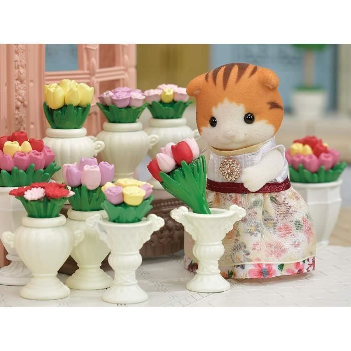 Sylvanian Families Calico Critters Town Series Tea and Treats Set