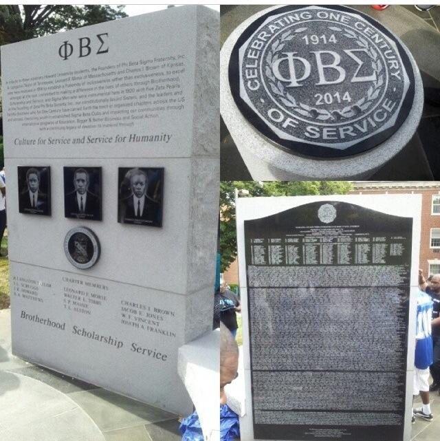 Phi Beta Sigma Centennial Monument