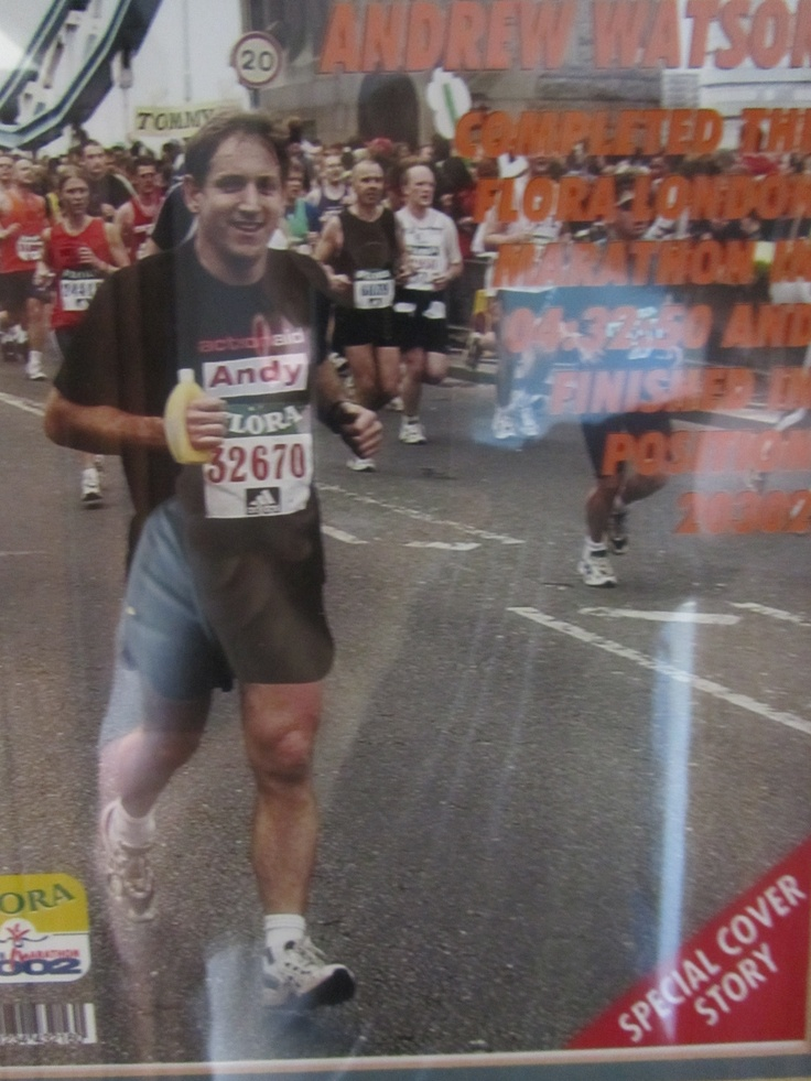 Ran the London Marathon 2 years running (if you pardon the pun) aged 45 and 46