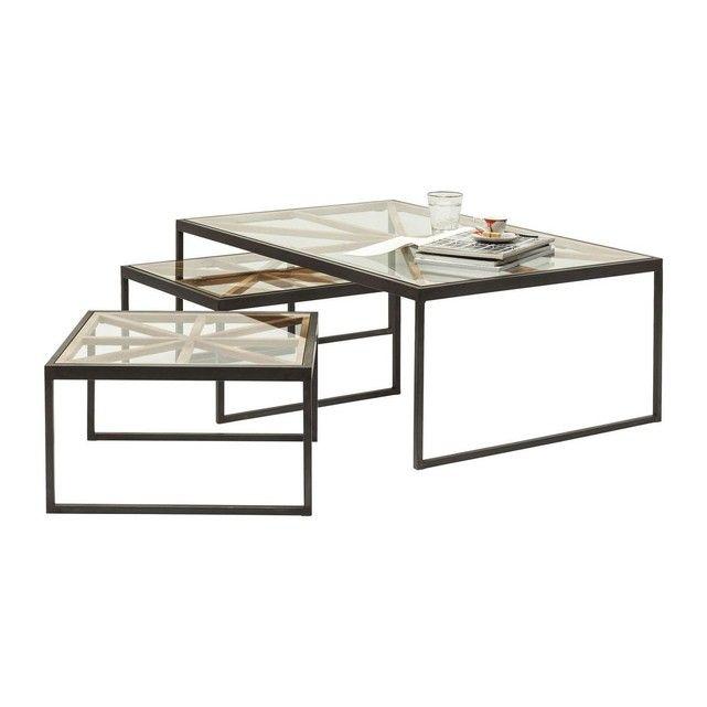 tables basses beam set de 3 kare design beams and tables. Black Bedroom Furniture Sets. Home Design Ideas