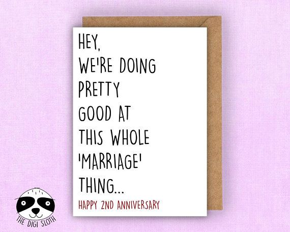 anniversary card marriage anniversary first anniversary love card