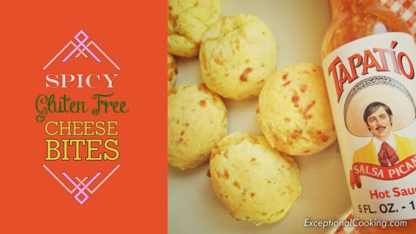 Gluten Free Spicy Cheese Bites
