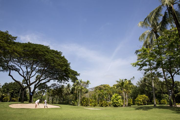 Warning: the beauty of the Balinese landscapes might make you shank a few balls ..;)