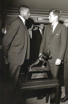 Ernie Davis followed in Jim Brown's footsteps at Syracuse and did him proud.