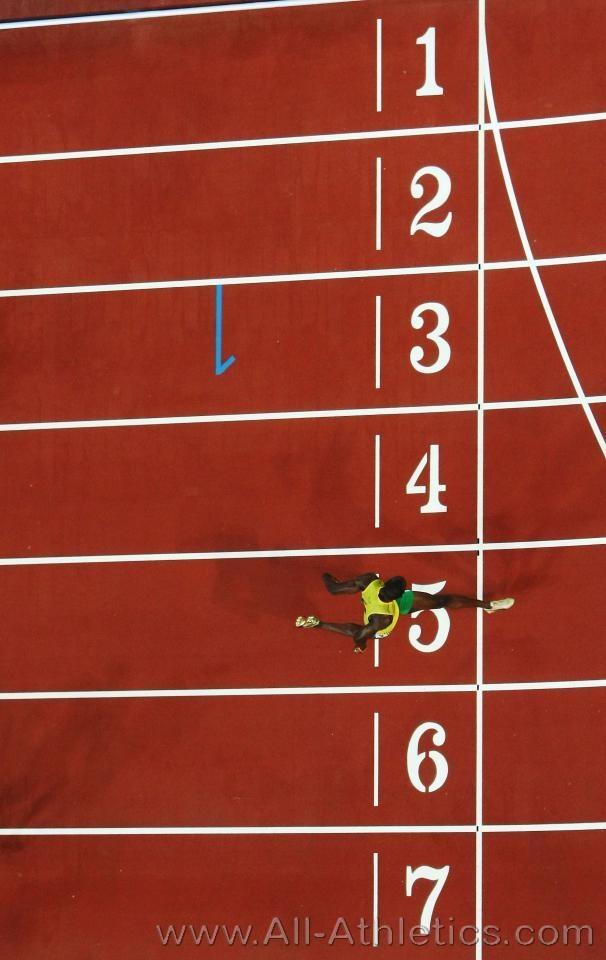 lonesome sprinter Usain Bolt