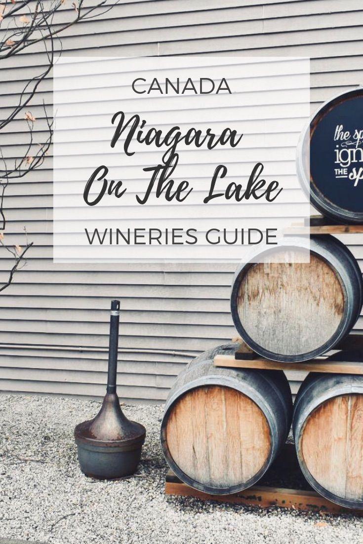 Niagara Falls Canada Wineries Map Niagara on the Lake Wineries: 20+ awesome Niagara wineries