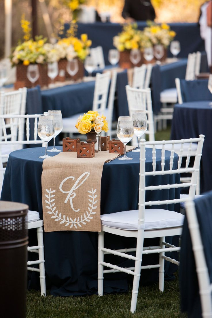 navy blue wedding table decorations 25 best ideas about navy blue table runner on 6128