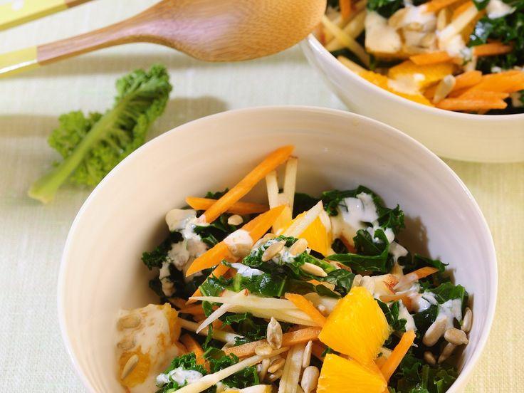 Grünkohlsalat mit Möhren - smarter - Kalorien: 252 Kcal - Zeit: 30 Min. | eatsmarter.de