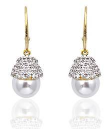 Buy Pearl Dangler Earrings danglers-drop online