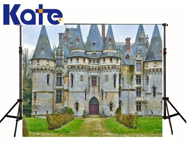 Kate Digital Printing High Quality Photography European Retro Building Background No Wrinkles Fond Studio Photo