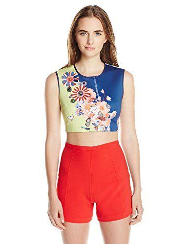 CLOVER CANYON Clover Canyon Sportswear Women'S Cascading Butterflies Top. #clovercanyon #cloth #