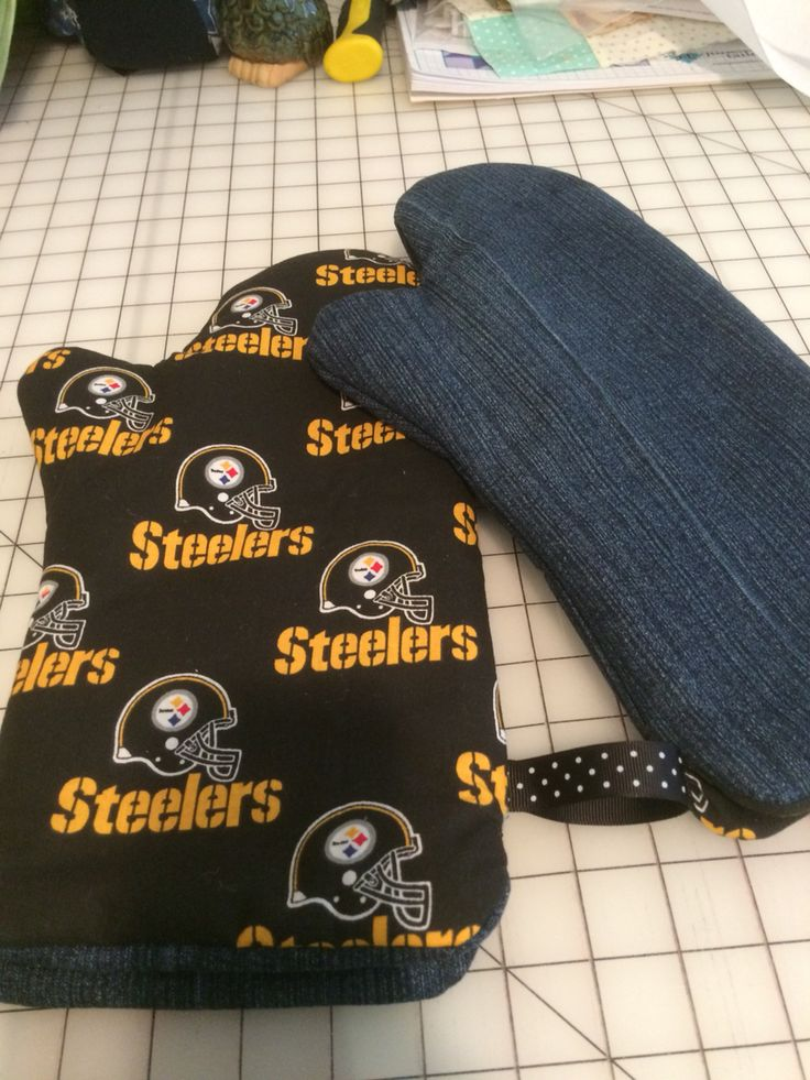 Steelers pot holders sewing and crafts from the hart pinterest