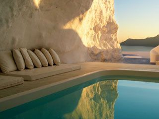 Katikies Hotel Oia Swimming Pool, Santorini, Greek Islands