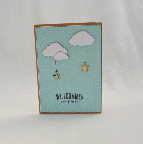 karte zur geburt von a patterned paper auf karten pinterest cards babies and. Black Bedroom Furniture Sets. Home Design Ideas