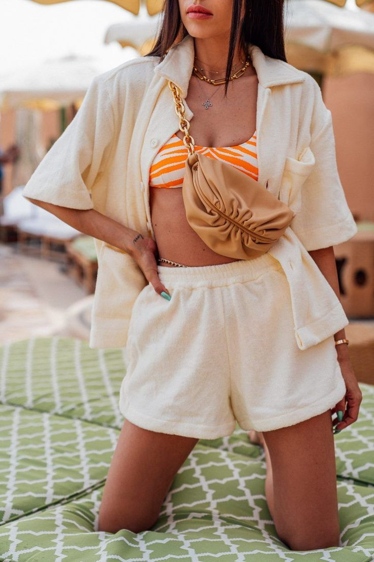 Summer Work Outfits, Summer Outfits Women, Bikini Outfits, Beach Outfits, Swag Outfits, Fashion Outfits, Summer Chic, Outfit Sets, Cover Up