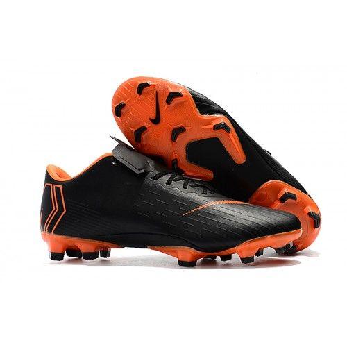 0d967b3f4d4 Comprar Botas de futbol Nike Mercurial Vapor XII Pro FG Naranja Negro  Baratas