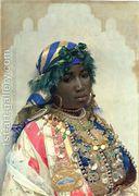Mujer de color  by Jose Tapiro Y Baro
