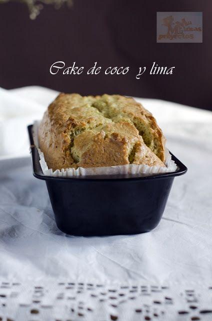 Mil Ideas Mil Proyectos: CAKE DE COCO Y LIMA