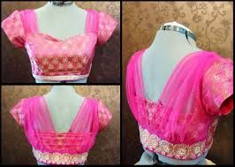 latest saree blouse back neck designs 2016 కోసం చిత్ర ఫలితం