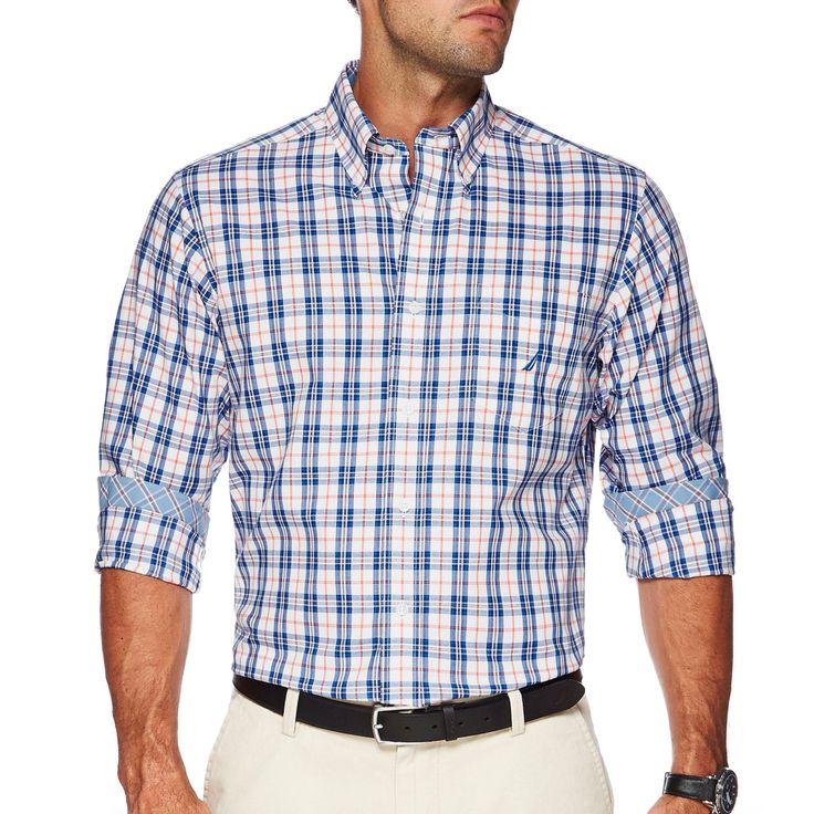 NAUTICA LS plaid shirt check