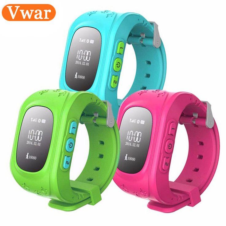 best price vwar q50 gps smart kid safe smart watch sos call location finder locator tracker for child anti #kid #watch
