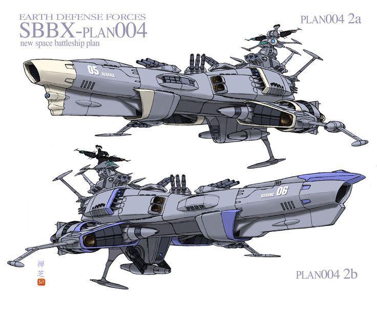 earth defense force star blazers art - Google Search