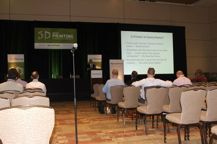 Inside the 3D Printing Conference & Expo.