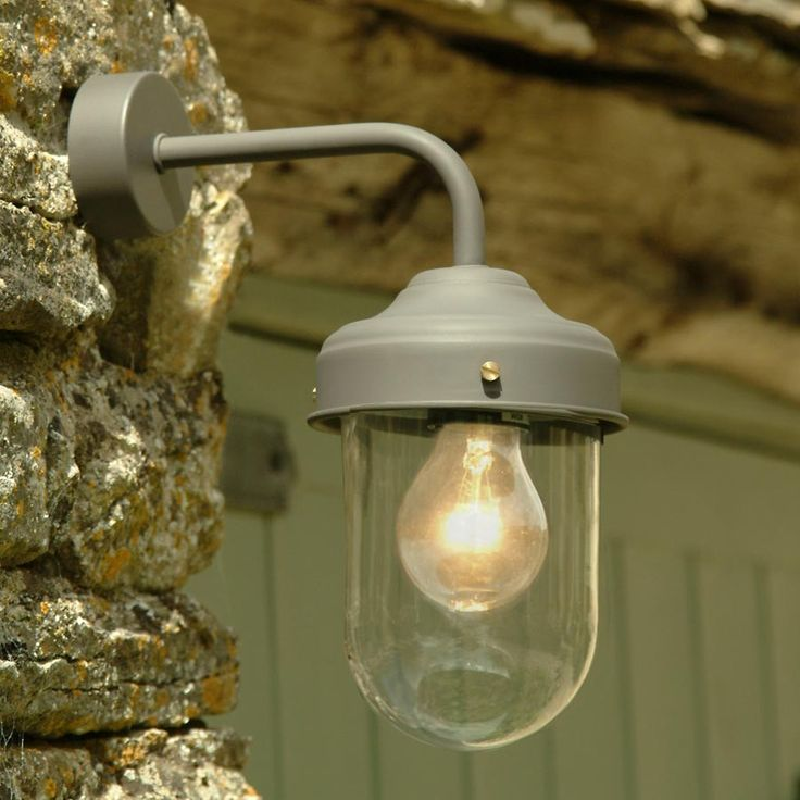 Based on lamps that were used on outbuildings and stables to facilitate checking on animals at night or early morning, these barn lamps are suitable for indoor or outdoor use.    These wall lights look great lighting an alcove or dining nook, but come into their own when they are lined up over a kitchen counter. Also great as a porch light or over the front door.