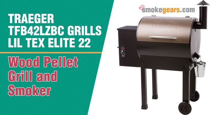 Traeger TFB42LZBC Grills Lil Tex Elite 22 Wood Pellet Grill and Smoker #Treager #PelletGrill #grill #grilling #grilledcheese #smoker