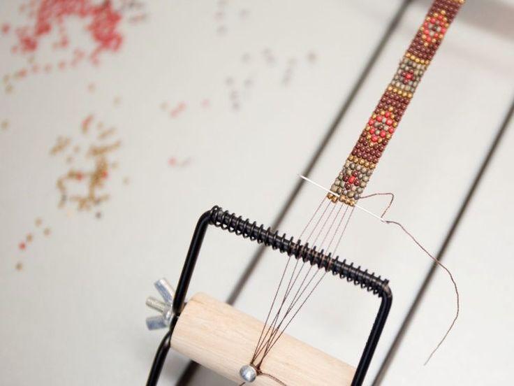 die besten 25 perlenweben ideen auf pinterest tiffany perlenarmband perlenschmuck und. Black Bedroom Furniture Sets. Home Design Ideas